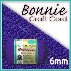 6mm Purple Macrame Cord