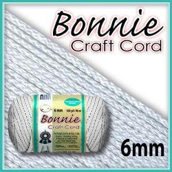 6mm White Macrame Cord