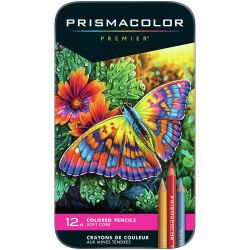 Primsacolor Premier Colored Pencil Set 12 Colors