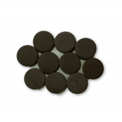 5/8 Inch Disc Round Ceramic Magnets 10 Pieces