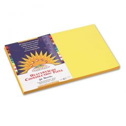 12x18 construction paper yellow