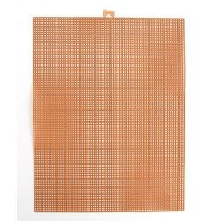 copper plastic canvas