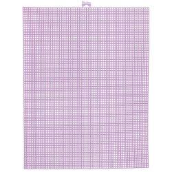 neon pink plastic canvas