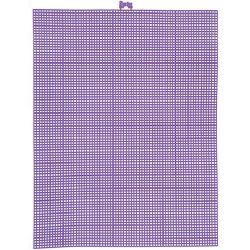 purple plastic canvas