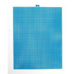 seaglass blue plastic canvas