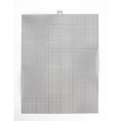 silver plastic canvas