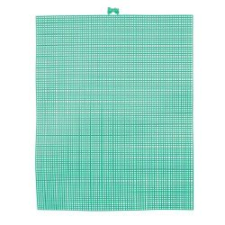 green plastic canvas