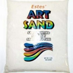 White Estes Art Sand 2 Pound Bag