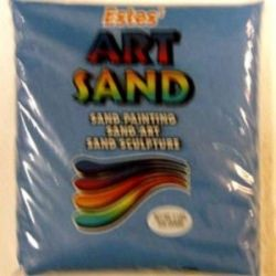 Light Blue Estes Art Sand 2 Pounds