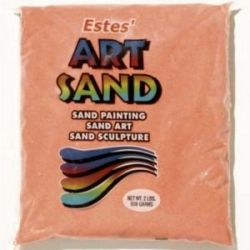 Coral Estes Art Sand 2 Pound Bag
