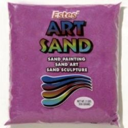 Lavender Estes Art Sand 2 Pound Bag
