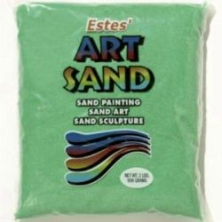 Emerald Estes Art Sand 2 Pound Bag