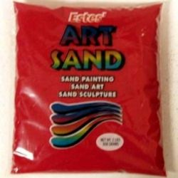Red Estes Art Sand 2 Pound Bag
