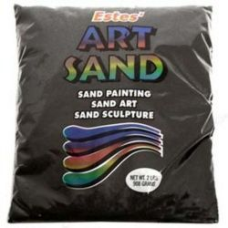 Black Estes Art Sand 2 Pound Bag
