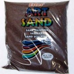 Earth Brown Estes Art Sand 2 Pound Bag