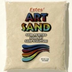 Beige Estes Art Sand 2 Pound Bag