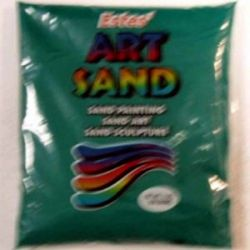 Green Estes Art Sand 2 Pound Bag