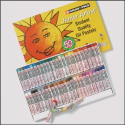 Cray-Pas Junior Artist Oil Pastels 50 Color Set