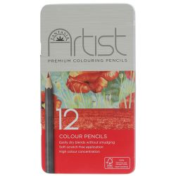 Fantasia Premium Coloring Pencils 12 Color Set