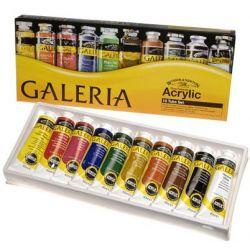 Winsor & Newton Galeria Acrylic Paint Set 10 Colors 60ml