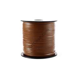 medium brown lanyard cord