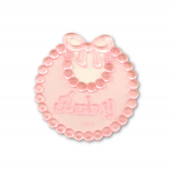mini plastic baby bibs for baby shower favors