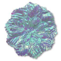 Blue Iridescent Capia Flower