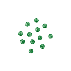 xmas green faceted beads bulk