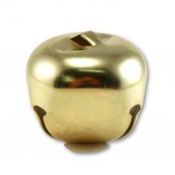 2 inch gold jingle bells