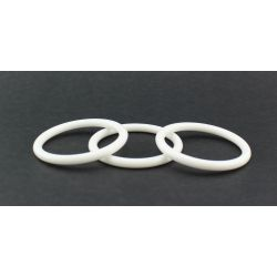 3 Inch White Plastic Rings