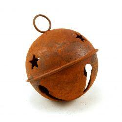 Large Rusty Jingle Bell