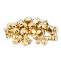 Gold Jingle Bells Assorted Sizes