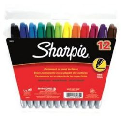 Sharpie Fine Point Permanent Markers Set