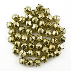Small Gold Jingle Bells Bulk