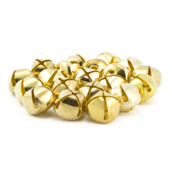 3/4 inch gold jingle bells bulk