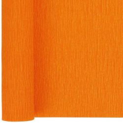 orange crepe paper
