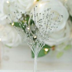 silver pearl sprays