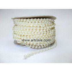 4mm mot pearls cream