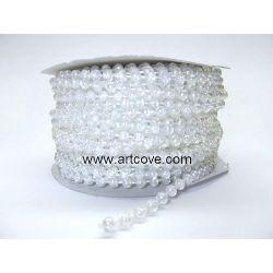 4mm crystal ab mot pearls
