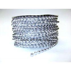 4mm fused pearls siler