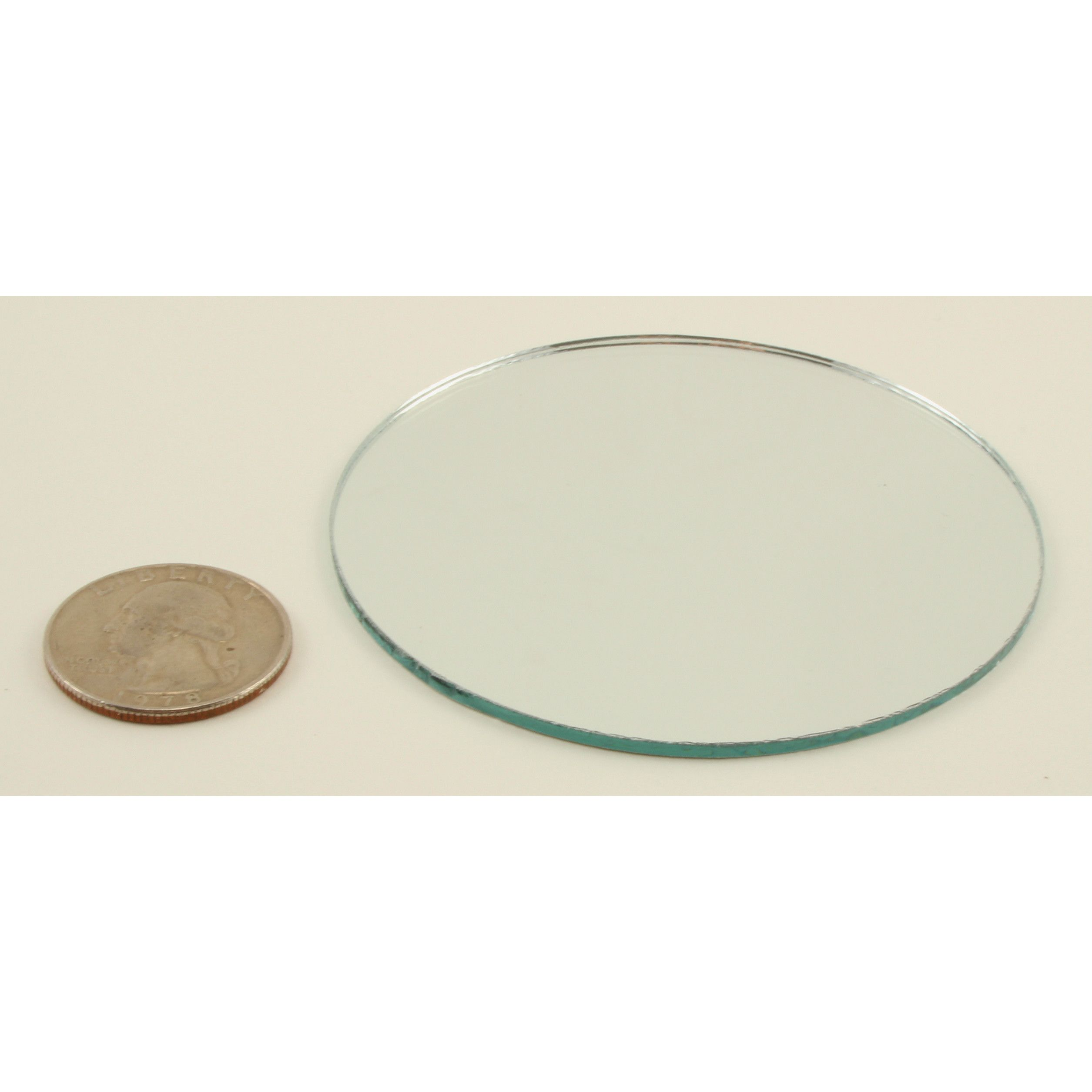3 Inch Glass Small Round Mirrors Bulk 100 Pieces Mirror