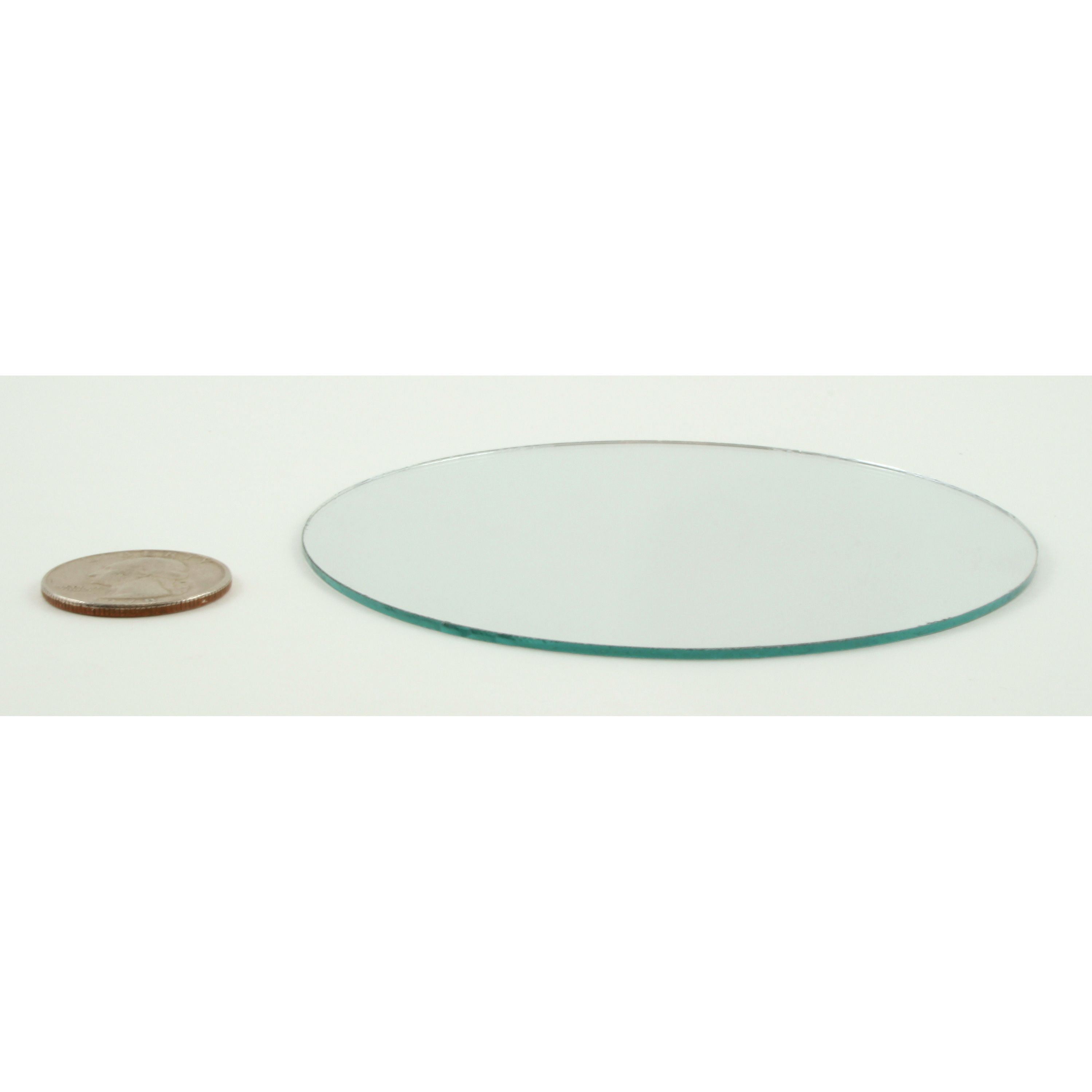 4 inch Glass Small Round Mirrors Bulk 100 Pieces Mirror ...