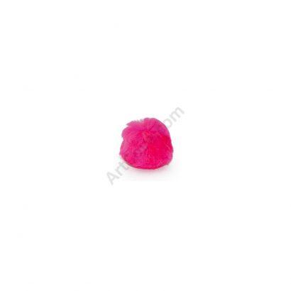 1 inch Neon Pink Pom Poms
