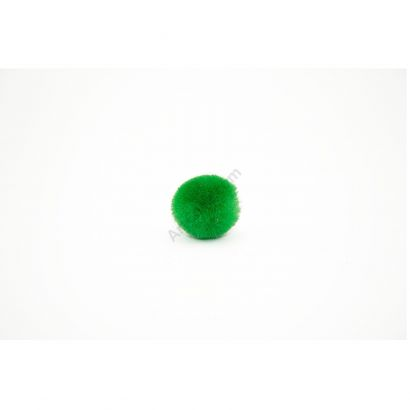kelly green craft pom pom balls bulk .75 inches