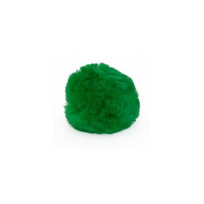 2 Inch Kelly Green Craft Pom Poms