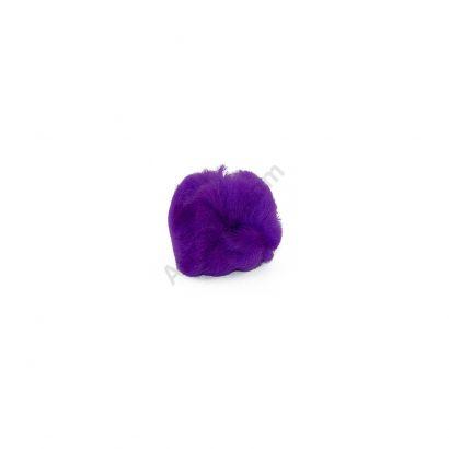 Purple Craft Pom Poms