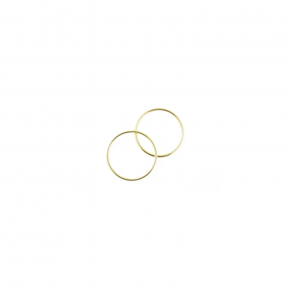 1 inch metal craft rings