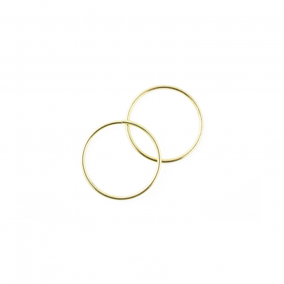 4 inch metal craft rings