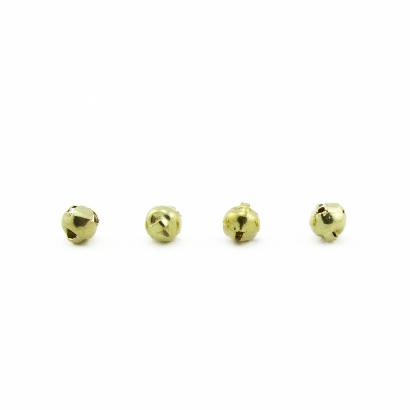 6mm gold craft jingle bells