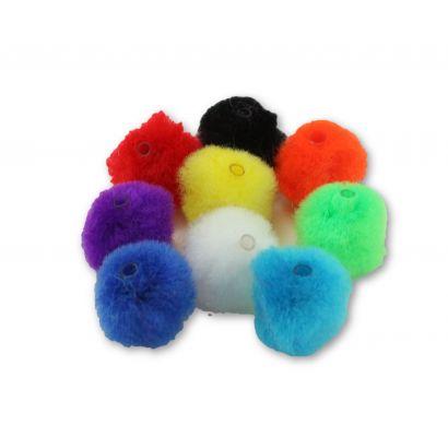 1 inch pom pom beads